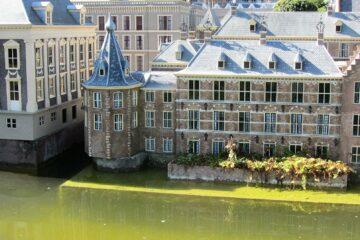 Het Torentje aan het binnenhof in Den Haag